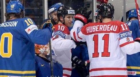 Describiendo sobre impactantes derrotas canadienses en el hockey sobre hielo